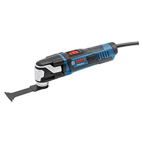 Bosch Professional Multi-Cutter GOP 40-30 (Starlock-Werkzeugaufnahme, 400 Watt, inkl. 1x StarlockPlus BIM Tauchsägeblatt, im Karton)