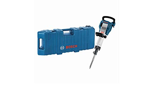 Bosch Professional Abbruchhammer GSH 16-30 (400 mm Spitzmeißel, 30 mm Werkzeugaufnahme, 41 J Schlagenergie, 1.750 Watt, im Trolley)