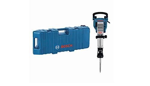 Bosch Professional Schlaghammer GSH 16-28 (41 J Schlagenergie, 1.750 Watt, 28 mm Werkzeugaufnahme, inkl. 400 mm Spitzmeißel, im Trolley)