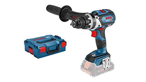 Bosch Professional 18V System Akku Bohrschrauber GSR 18V-110 C (max. Drehmoment: 110 Nm, max. Schrauben-Ø: 12 mm, ohne Akkus und Ladegerät, in L-BOXX 136)