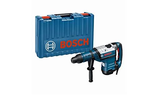 Bosch Professional Bohrhammer GBH 8-45 DV (1.500 Watt, Bohr-Ø in Beton mit Hammerbohrern: 12-45 mm, Schlagenergie max.: 12,5 J, SDS-max., inkl. Fetttube, Zusatzhandgriff, im Koffer)
