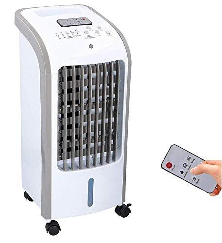DUNLOP COMMODOOR mobiles Klimagerät mit Wasserkühlung, TÜV geprüft, inkl. Fernbedienung + Timer, Mobile Klimaanlage leise, Kühlender Ventilator ohne Abluftschlauch