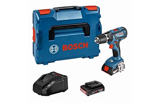 Bosch Professional GSB 18-2-LI Plus Professional, Batteriespannung 18V, Drehmomenteinstellung 20 +1 (18V 21)