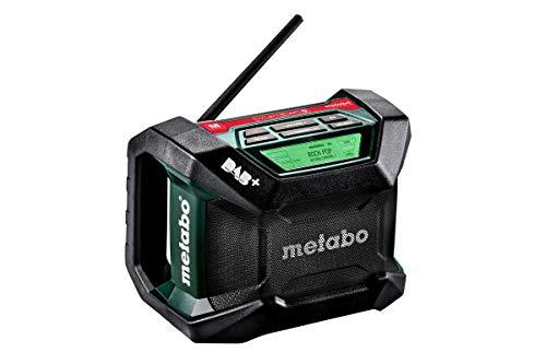 Metabo Akku Baustellenradio R 12-18 (DAB+, Bluetooth, ohne Akku, LCD Display, automatische Sendersuche, AM/FM) 600778850