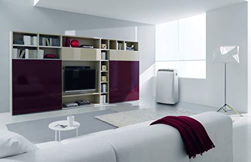 DeLonghi PAC N90 ECO Silent Geeignet für Räume bis max. 85 m³, EEK: A