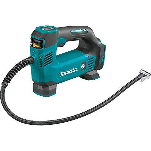Makita DMP180Z Kompressor 8,3 bar 18 V (ohne Akku, ohne Ladegerät), Blau, Silber