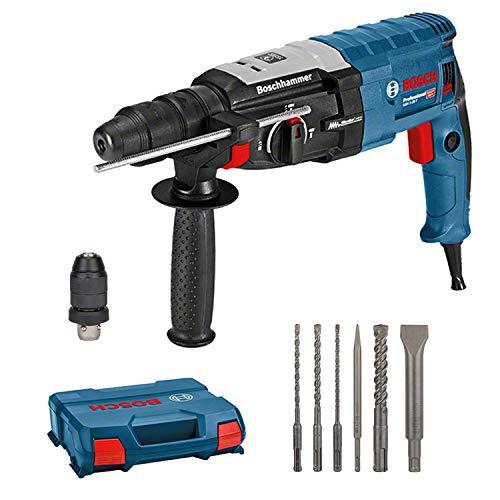 Bosch Professional Bohrhammer GBH 2-28 F (880 Watt, Bohr-Ø Beton max: 28 mm, inkl. 6tlg. Bohr-Meißel-Set, SDS-plus, in L-Case) - Amazon Exclusive
