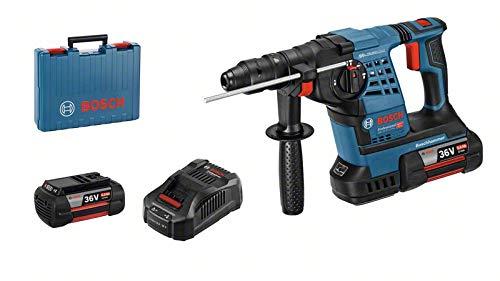 Bosch Professional 36V Akku Bohrhammer GBH 36 V-LI Plus (inkl. 2x6.0Ah Akku, Schnellladegerät, Wechselfutter SDS plus, in L-BOXX 238)