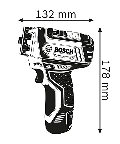 Bosch Professional 12V System Akku Bohrschrauber GSR 12V-15 FC (inkl. 1x2.0 Ah Akku, Ladegerät GAL 12V-20, 3x Bohrfutteraufsätze, 40tlg. Zubehörset, im Koffer) - Amazon Exclusive