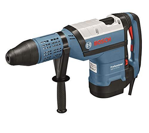 Bosch Professional Bohrhammer GBH 12-52 DV (1.700 Watt, inkl. Zusatzhandgriff, Fetttube, Maschinentuch, im Koffer)