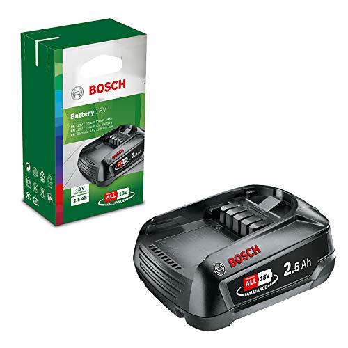 Bosch Akku PBA 18V 2.5Ah (18 Volt System, 2.5Ah Akku, im Karton)