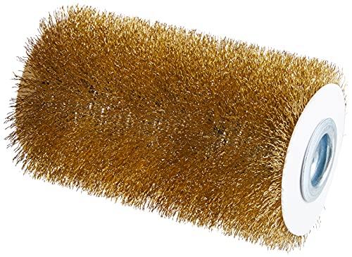 GLORIA Steinbürste PRO   Zubehör für MultiBrush und PowerBrush   Robuste Pflastersteine und Steinplatten reinigen mittels Drahtbürste   10 cm Durchmesser   16,5 cm Breite
