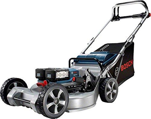Bosch GRA 48 Professional Schubrasenmäher Schwarz, Blau, Silber Batterie/Akku - Rasenmäher (Schubrasenmäher, 48 cm, 2 cm, 7 cm, 1500 m², Messerbalken)