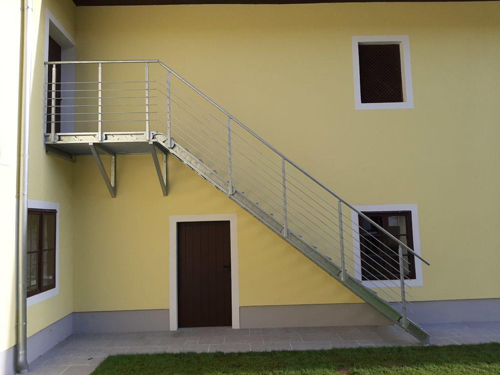Treppe Vollansicht